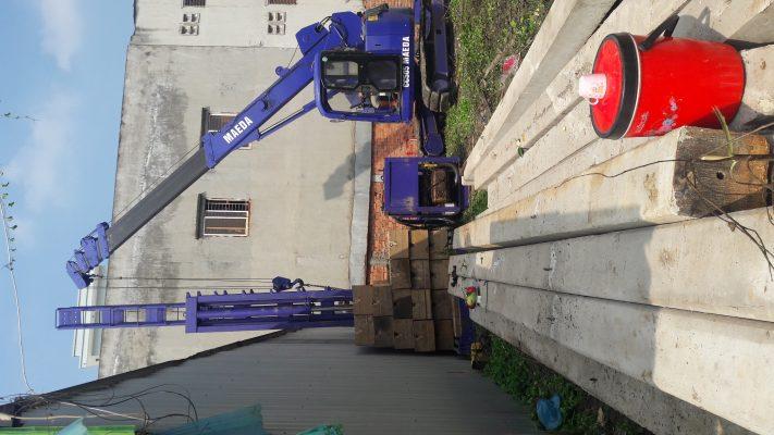 Ép cọc bê tông cốt thép tại Long An