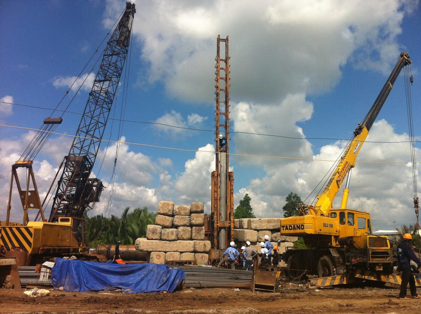 Phương pháp ép cọc bê tông cho công trình cao tầng
