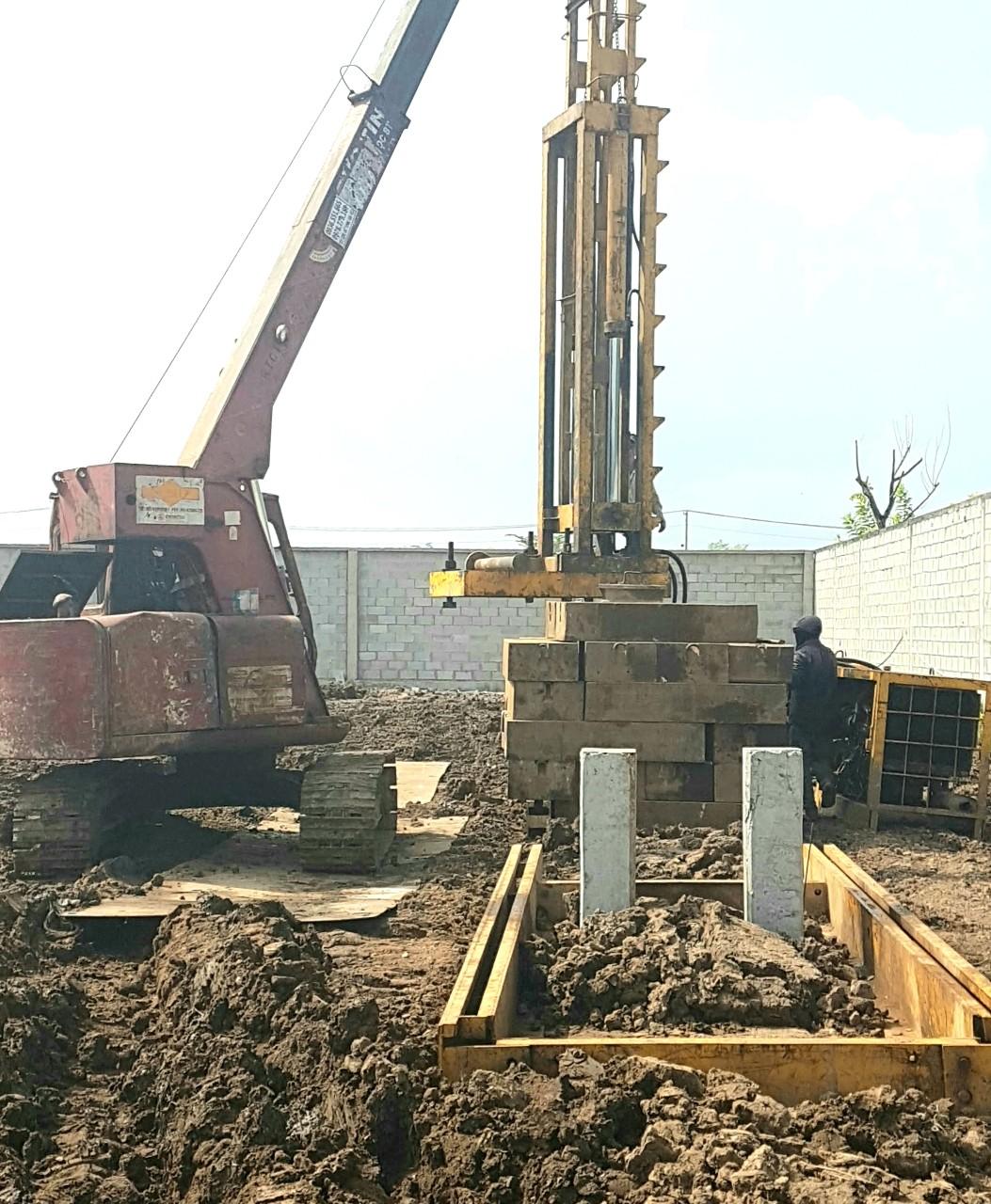 Các bước thực hiện ép cọc bê tông đúng tiêu chuẩn kỹ thuật